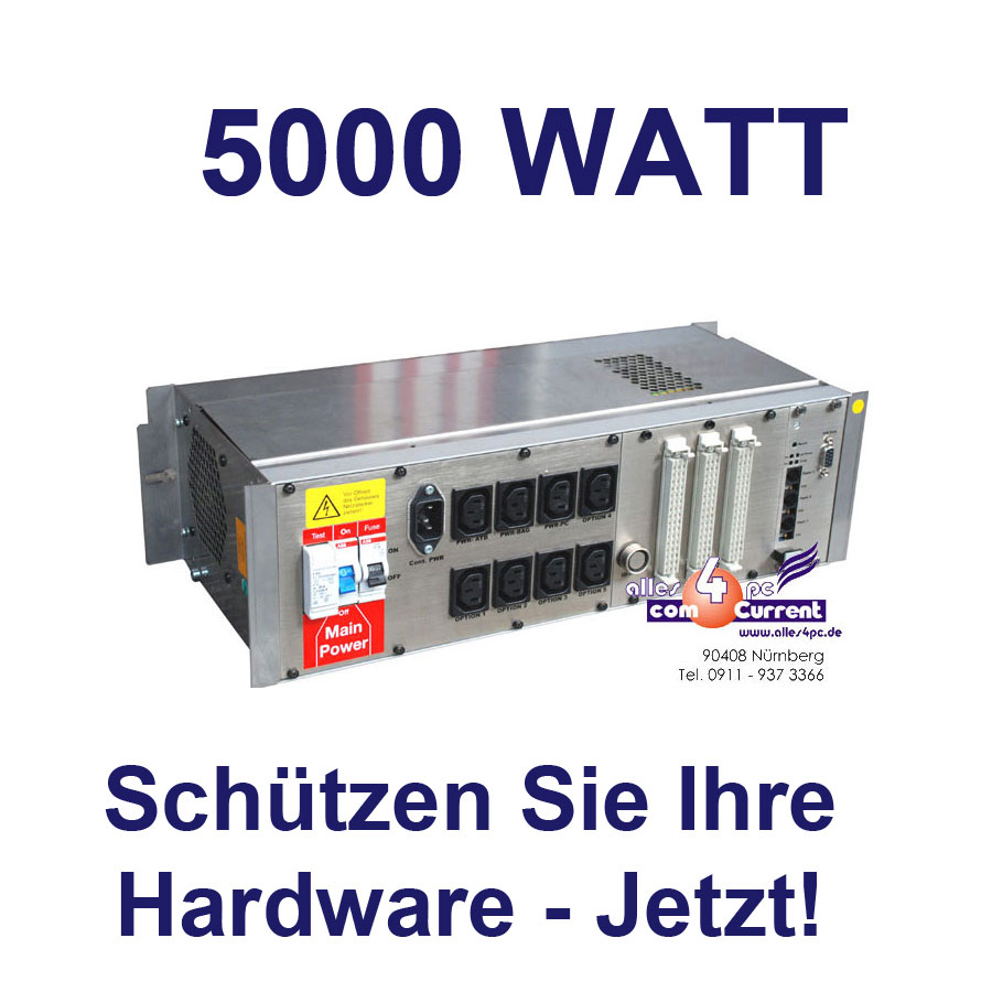 48cm-19-PDU-SICHERUNGSSYSTEM-STROMSTABILISATOR-5000-WATT-FUR-SERVER-USV-TV