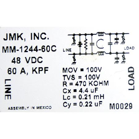 JMK-DC-FILTER-48VDC-60A-MM-1244-60C