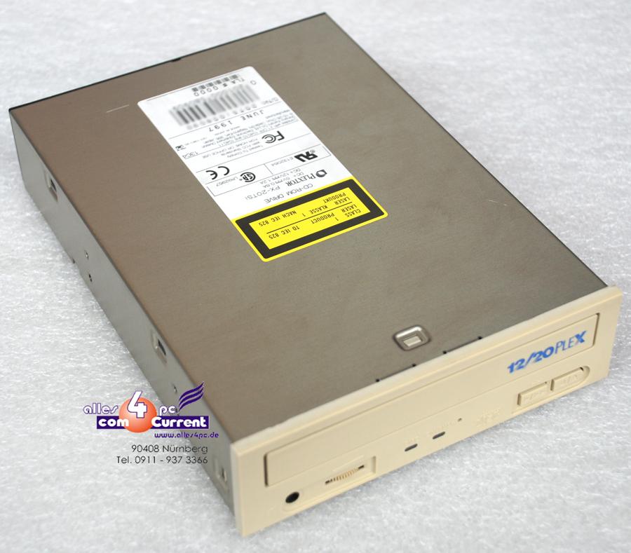 PLEXTOR-PX-20TSi-CD-ROM-CDROM-50-POL-SCSI-50-PIN-ANSCHLUSS-LAUFWERK-PX20TSi-B355