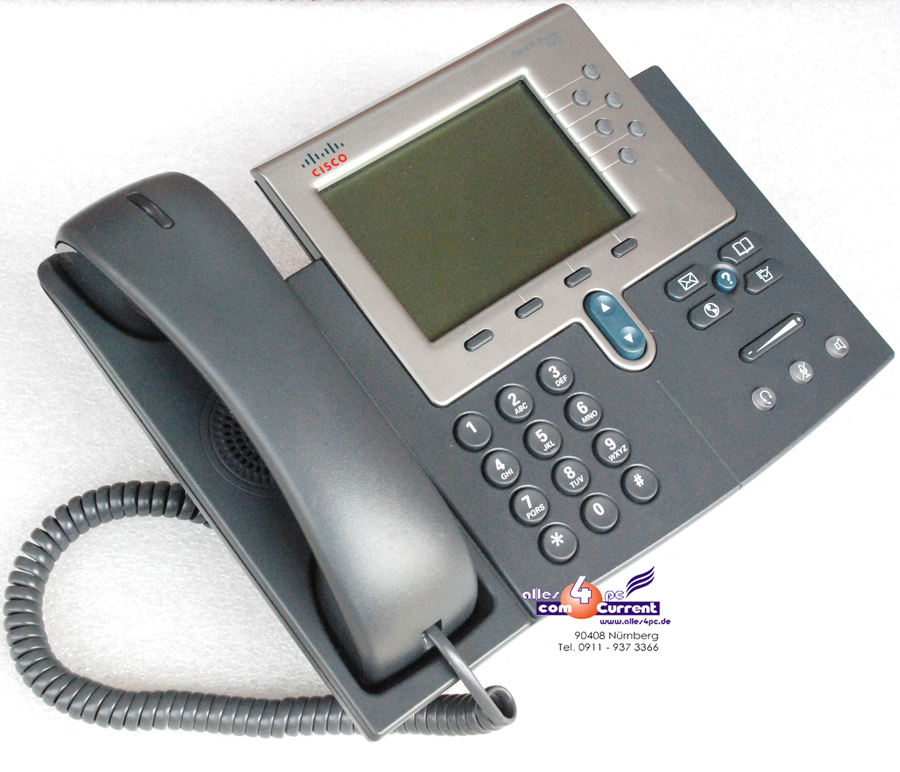 CISCO SYSTEMS UNIFIED IP-PHONE IP TELEPHONE 7962G VOIP CP