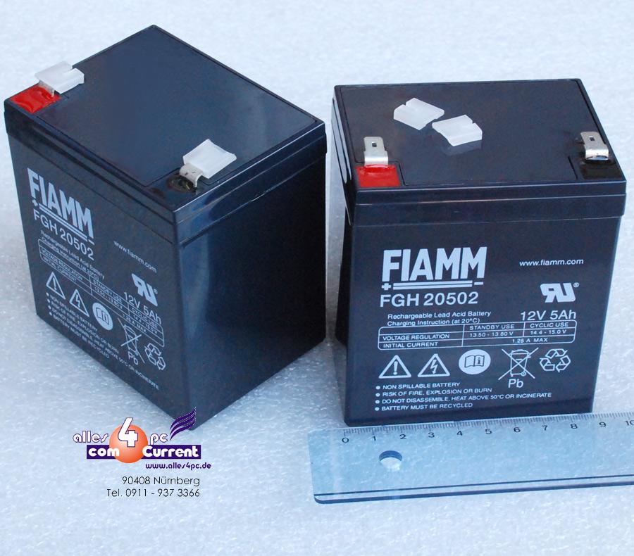 12V-5A-5AH-AKKU-FUR-UPS-USV-FIAMM-FGH20502-FGH-20502-BATTERY-ACCU-NEU-NEW