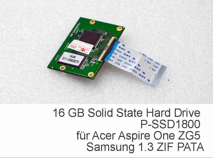 16 Gb Zif Ssd Samsung Hard Drive P
