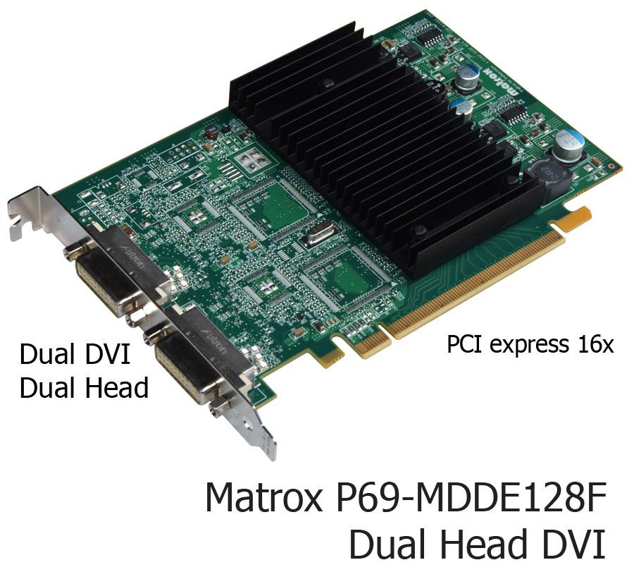 Matrox p65-mdde128f