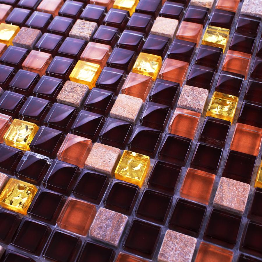 Piastrelle mosaico obi elegant mosaico specchio adesivo for Mosaico adesivo per cucina