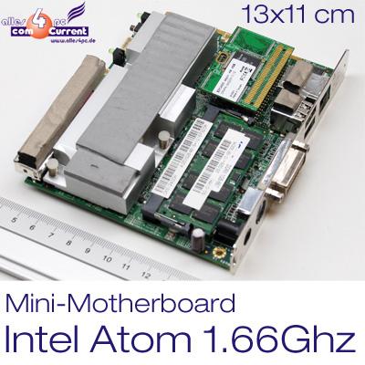 MINI-MOTHERBOARD-CHIP-PC-INKL-INTEL-ATOM-N270-1-6GHZ-SSD-4GB-1GB-DDR2-DVI