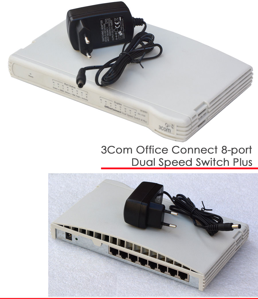 8 port 10 100 switch 3com office connect status 3c16791a for 3 com switch
