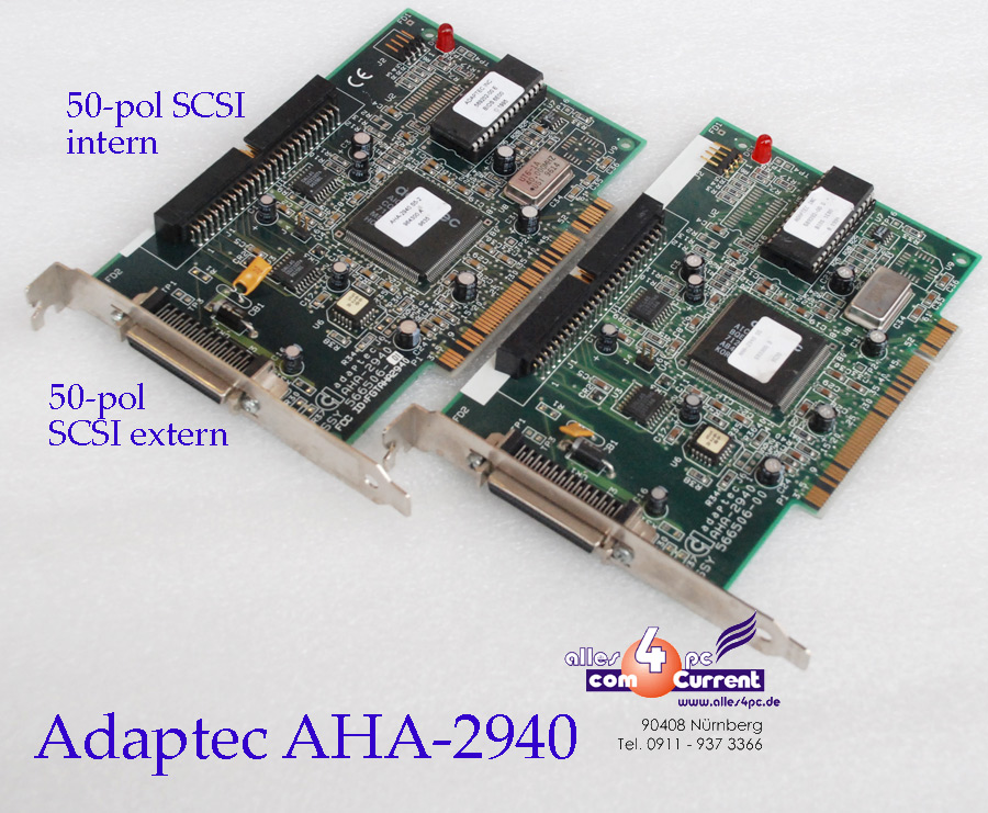 Adaptec AHA/U Ultra Wide SCSI PCI Controller Card Computers & Accessories