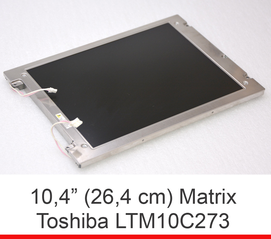 10 4 26 4cm lcd screen matrix toshiba ltm10c273 800x600 f r industrie invoice ebay. Black Bedroom Furniture Sets. Home Design Ideas