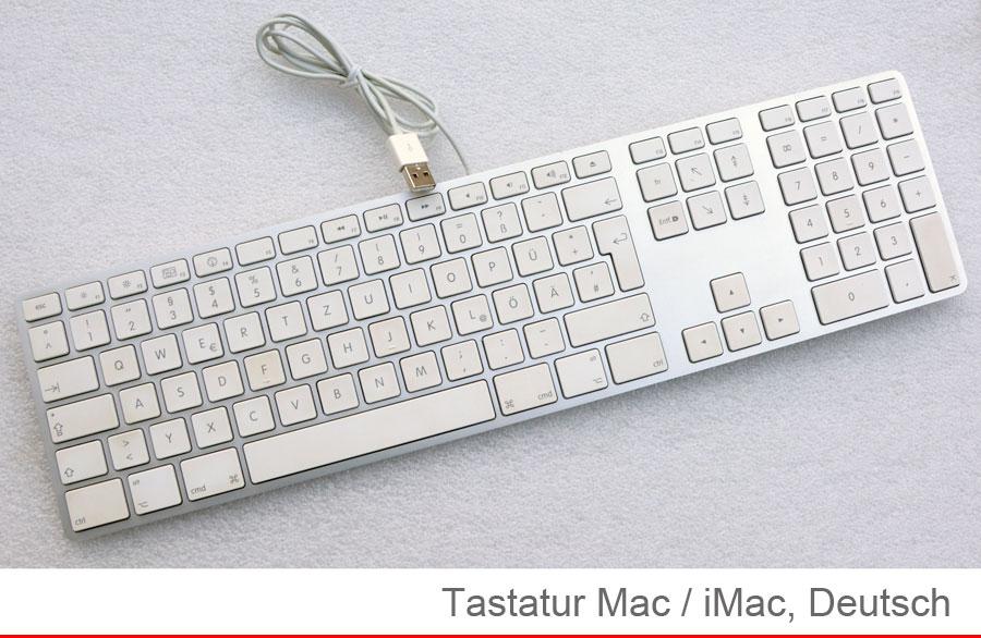 Imac apple mac tastiera usb usb german tedesco quertz paragrafo blocco a1243 mb110 t9 ebay - Er finestra mac ...