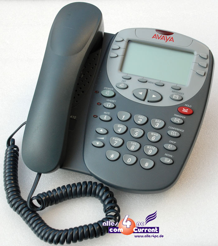 SYSTEMTELEFON-ISDN-TELEFON-PHONE-AVAYA-AVAYA-2410-PHONE-IP-OFFICE-IP500-TOP-ZUST