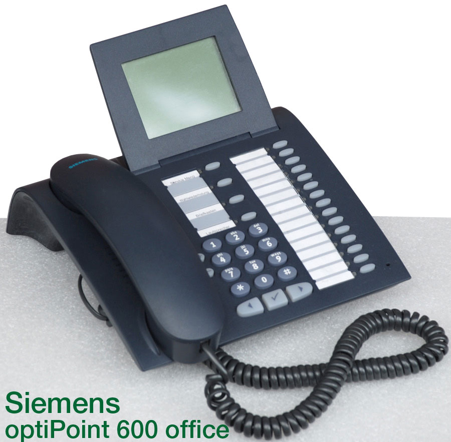 siemens optipoint 600 office s30817 s7504 a107 18 phone. Black Bedroom Furniture Sets. Home Design Ideas