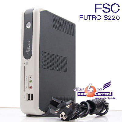 THIN-CLIENT-FUJITSU-SIEMENS-FSC-FUTRO-S220-128MB-TR5670C-800Mhz-RS-232-4xUSB-LPT