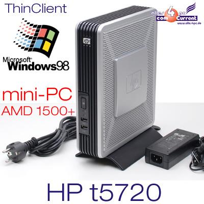 THINCLIENT-MINI-COMPUTER-HEWLETT-PACKARD-HP-T5720-AMD-WINDOWS-98-RS-232-LPT-LIZ