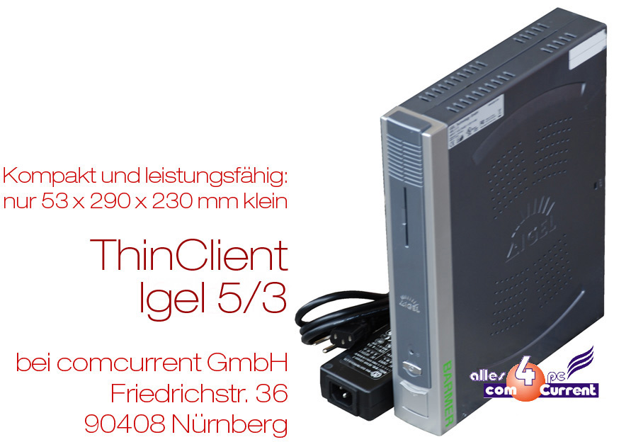 MINI-PC-THIN-CLIENT-IGEL-5-3-564LX-4210LX-NETZTEIL-12V-BETRIEB-VGA-DVI-RS232