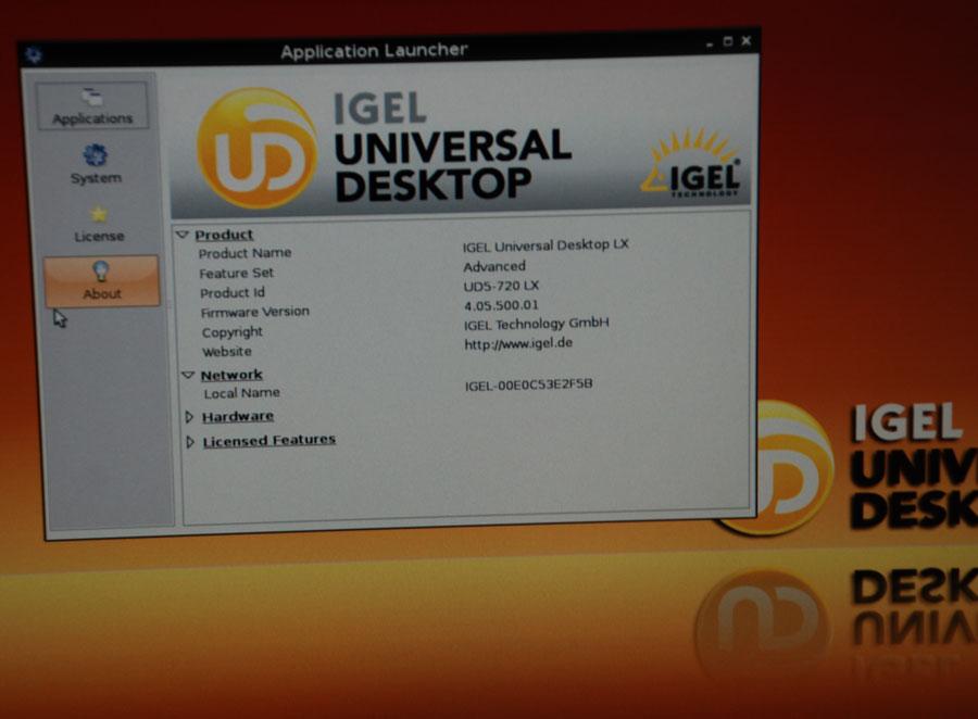 THIN CLIENT IGEL UD5-720LX IGEL-H700C 2GB RAM 2x RS-232 ...