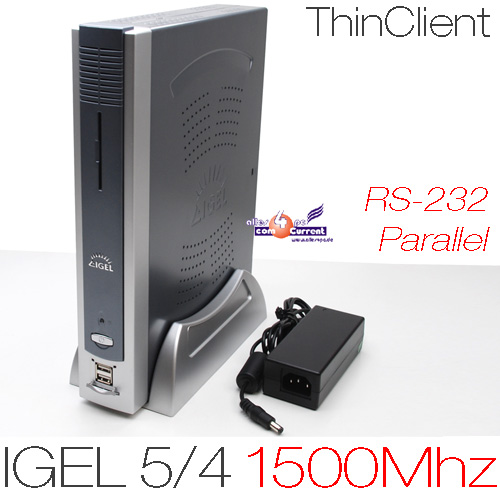 1500MHZ-MINI-COMPUTER-PC-IGEL-5-4-512MB-DDR2-RAM-512MB-CF-RS-232-DVI-PARALLEL