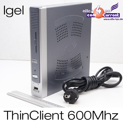 THIN-CLIENT-IGEL-332-LX-3-4-256MB-DDR2-128MB-CF-VIA-EDEN-ESTHER-600Mhz-DVI-USB
