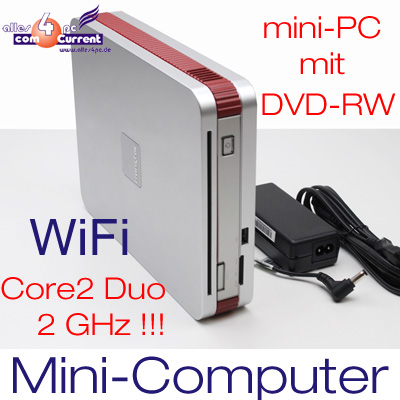 MINI-COMPUTER-TRANSTEC-SENYO-600-CORE2DUO-2Ghz-80GB-DVD-RW-2GB-DVI-TVOUT-WIFI