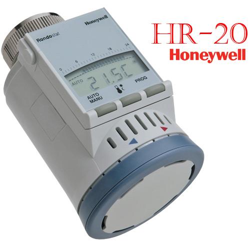 thermostat honeywell rondostat hr 20 heizk rperregler spart energie hr 20e neu ebay. Black Bedroom Furniture Sets. Home Design Ideas