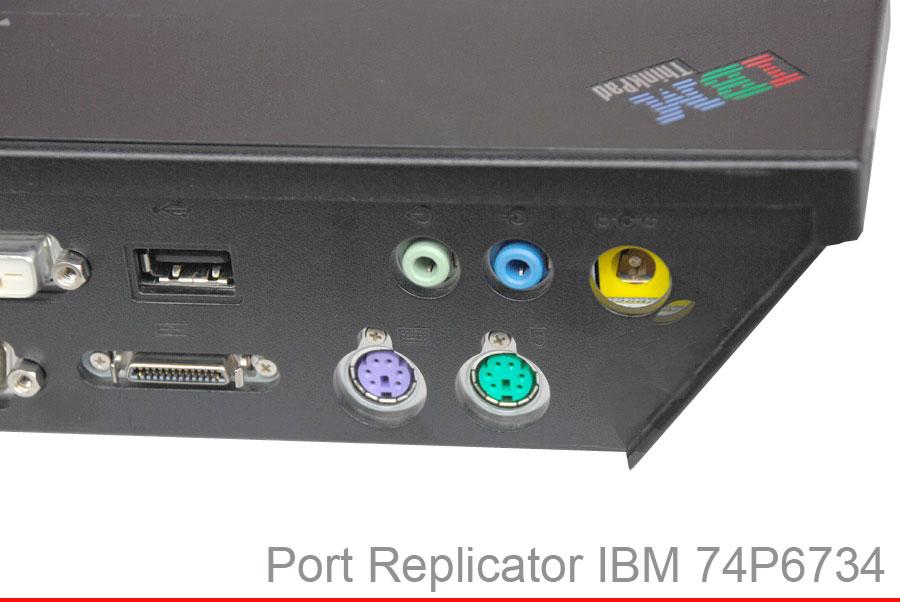 port replicator docking station 74p6734 ibm thinkpad t21 t22 t23 t30 t40 t41 ebay. Black Bedroom Furniture Sets. Home Design Ideas