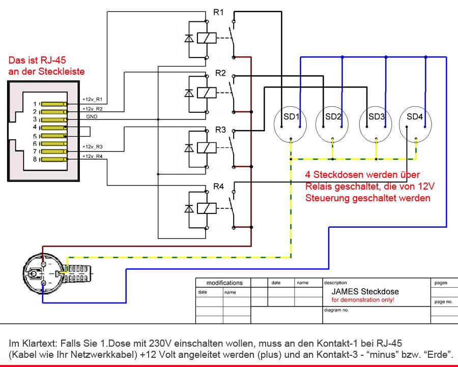 Berühmt Rj 48c T1 Schaltplan Ideen - Elektrische ...