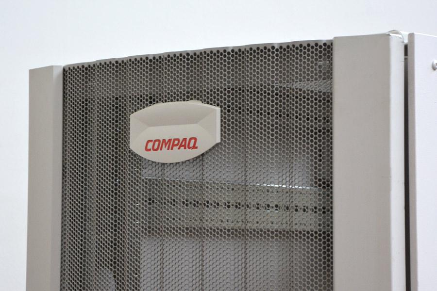 Kleiner kompakter serverschrank compaq 48cm 19 36he 90cm for Schrank 90 hoch