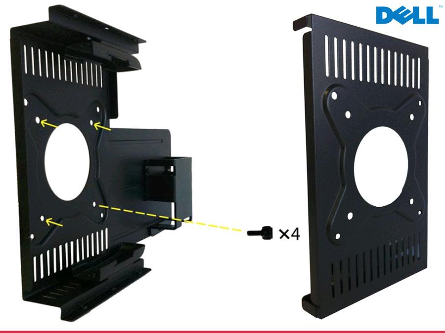 Dell wyse dual monitor wandhalterung f r e class ger te p n 04c6py 895a ebay - Wandhalterung fur tv gerate ...