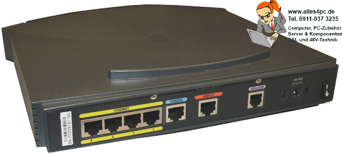 Cisco 836 ADSL over Isdn Broadband Router Modem 8Mbps Good Condition Ok