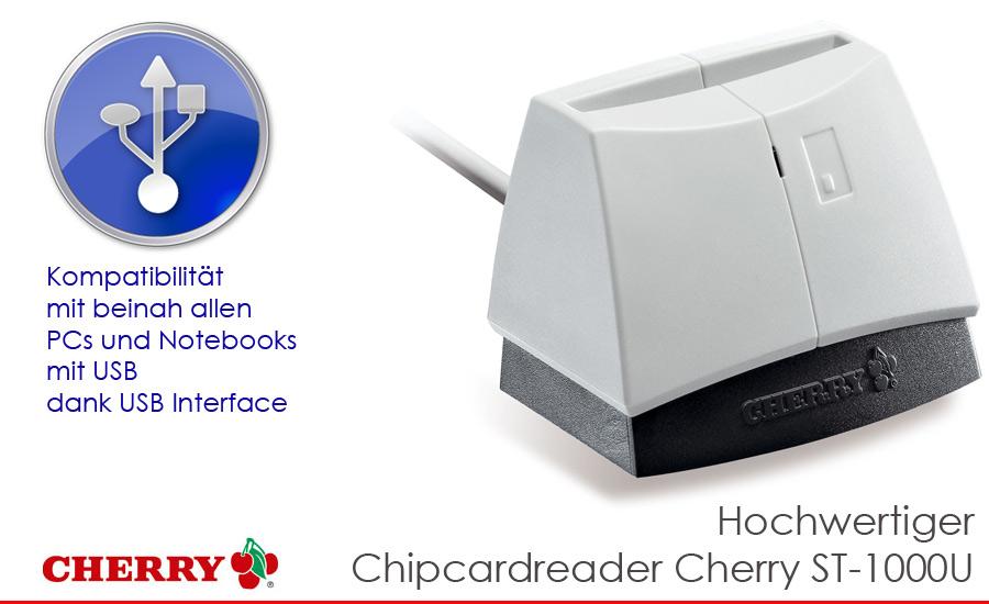 Cherry card reader st-1000u