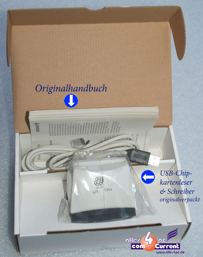 Details about USB Card Reader Cardreader Cherry St-1002u Hbci Homebanking  for Windows XP 7 New