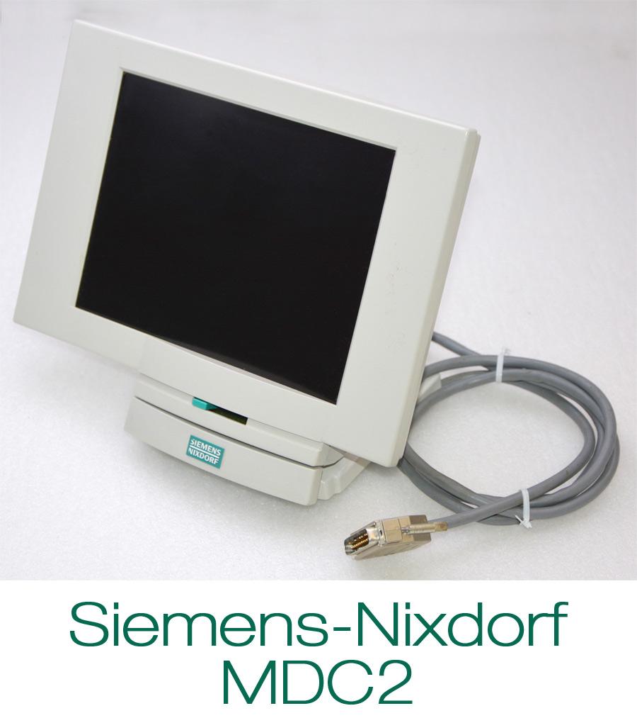 pos display kassenmonitor monitor siemens nixdorf mdc2 kassendisplay siemens ok ebay. Black Bedroom Furniture Sets. Home Design Ideas